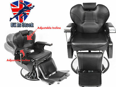 Salon Barber Chair Hydraulic Recline Hairdressing Lift Tattoo Shaving Chair