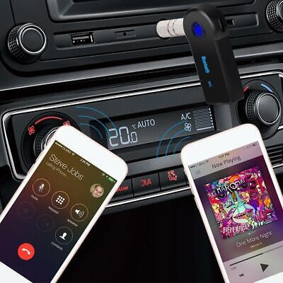 Bluetooth Wireless 3,5mm AUX Audio Auto Empfänger Adapter Stereo w/Mic Home G2H5
