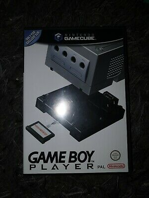 GameCube official GameBoy Player (pal)