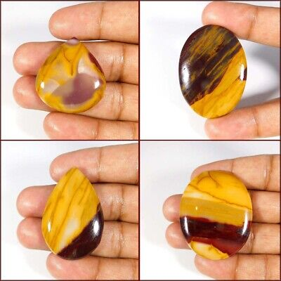 Rare 100% Natural Mookaite Jasper Mix Cabochon Loose Gemstones ~ Wholesale Bulk