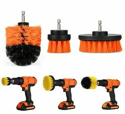 Power Scrub Brush for Bathroom Scrubber Cleaning Cordless Drill Attachment Kit