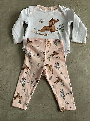 Disney Baby Bambi Girls Outfit Size 3 Months