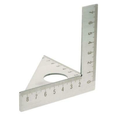 Square Layout Miter Triangle Rafter 90 degree 45° Metric Gauge Woodworking Ruler