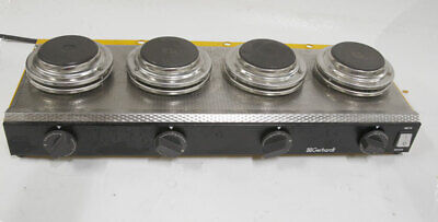 Gerhardt Analytical EV-14 4 unit hot plate