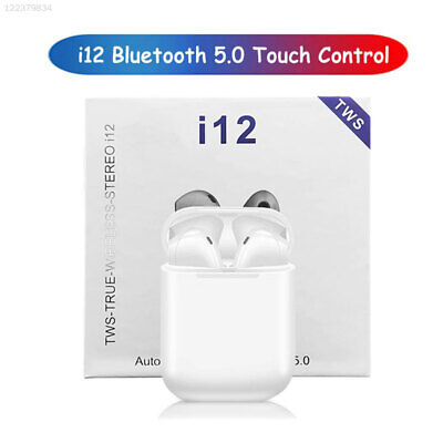 i12 TWS Bluetooth v5.0 Earbuds Wireless Headphones Earphones For iphone Android