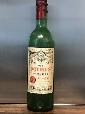 Chateau Petrus 1981 Vintage collector Empty Bottle