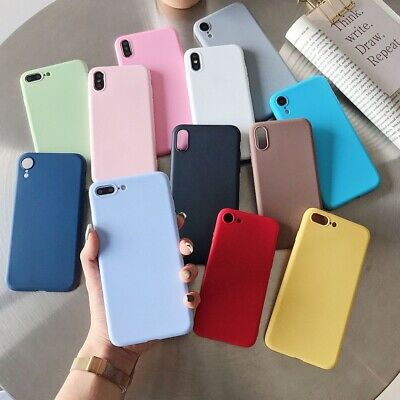 Luxury Soft Matte Color Cases for Huawei Case Shockproof TPU Silicone Back Cover