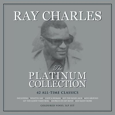 Ray Charles Platinum Collection 3 LP 180G Coloured Vinyl Record