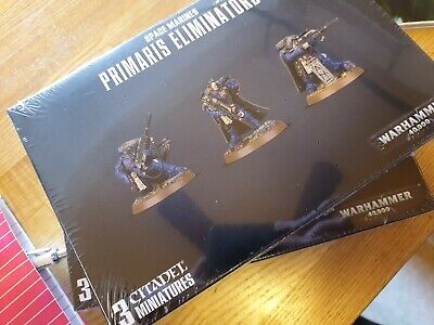 Vanguard Primaris Eliminators space marines warhammer 40k new in box