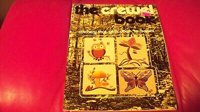 (USED) 1971 The Royal Craft Library - #7119 THE CREWEL BOOK