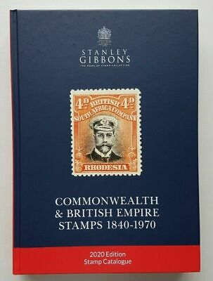 GB - 2020 Stanley Gibbons Commonwealth & British Empire Stamps Catalogue NEW