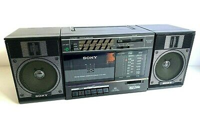 Vintage SONY Boombox CFS 3300 Radio Cassette 100% WORKING! 1986 Super nice!