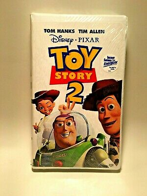 Toy Story 2 Disney (Pixar VHS, 2000) Brand New Factory Sealed!!! Collectable