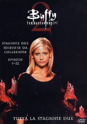 Buffy L`Ammazzavampiri - Stagione 02 Box Set (6 Dv DVD NUOVO