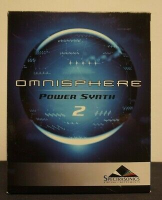 Sold AS IS Read Desc.Spectrasonics Omnisphere Power Snyth 2 Synthesizer Software