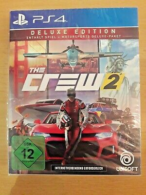 The Crew 2 - Deluxe Edition PS4 (PlayStation 4, USK: ab 12)