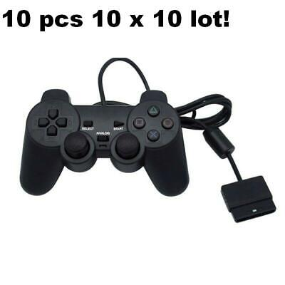 10 LOT 10 X PlayStation2 Dual-Shock Wired Controller Joypad Gamepad ps2 Joystick