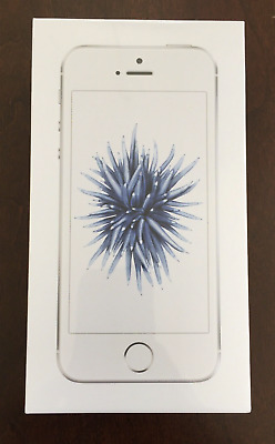 NEW Apple iPhone SE 32GB Silver Verizon *Prepaid* A1662 CDMA Sealed 4G LTE