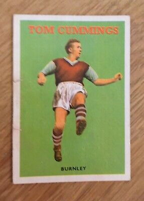 Trade Card Burnley Player by A&BC Gum 1959 Footballers (Football Quiz 1-49)No.39