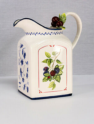 Villeroy & Boch Cottage Inn Country Collection Pitcher