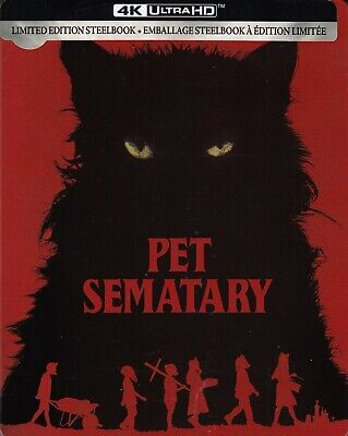 Pet Sematary (2019) Steelbook (4K Ultra Hd/Bluray)(2 Disc Set)(Used)