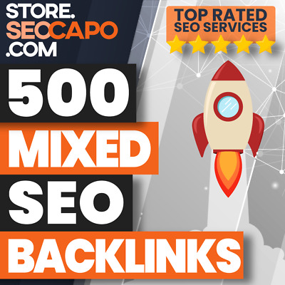 500 Mixed Platform Backlinks - Boost your Google Ranking - High Quality SEO🚀🚀