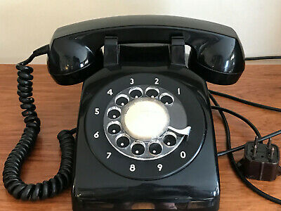 1969 Rotary Numbers Only Dial Desk Phone Northern Electric NE500 DQ1A Ottens Bar