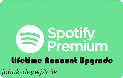 Upgrade your Spotify account to Premium! | Lifetime Warranty | Fast Delivery