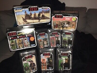 Star Wars Return of the Jedi Vintage Collection Lot (w/ Jabba's Palace & Skiff)