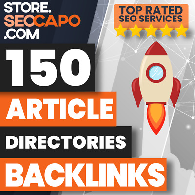 150 Article Directories SEO Backlinks - Google Friendly - High Quality 🚀🚀🚀🚀