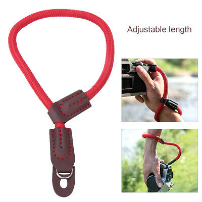 Portable Nylon Adjustable Wrist Strap Hand Rope Lanyard for Mirrorless Cameras