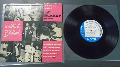 "VG++ Art Blakey‎ A Night At Birdland, Vol. 2 Blue Note 5038 10"" LP Vinyl DG"