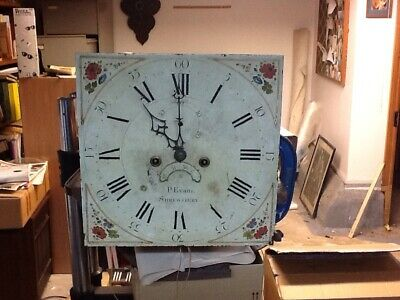 Antique Longcase Grandfather Clock Movements