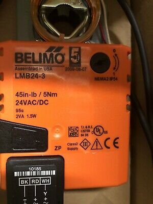 Belimo LMB24-3 24V Non-Spring Return, On/Off/Floating Point Control