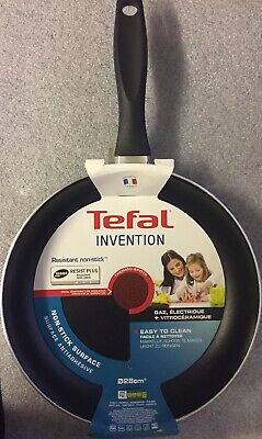 Tefal Invention 28cm Black Non Stick Thermo Spot Frying Pan