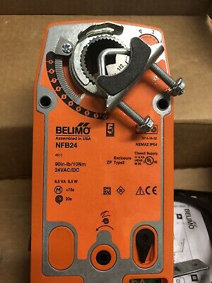 Belimo NFB24-90 in-lb Spring Return Damper Actuator