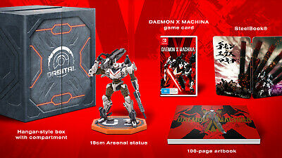 Daemon X Machina Orbital Limited Collectors Edition Nintendo Switch NEW / SEALED