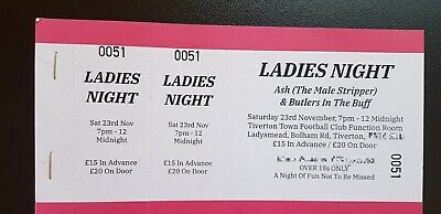 Tiverton LADIES NIGHT Ticket - Girls Night Out / Ladies Over 18s Only