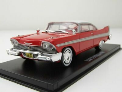 Plymouth Fury Christine 1958 rot weiß Modellauto 1:43 Greenlight Collectibles