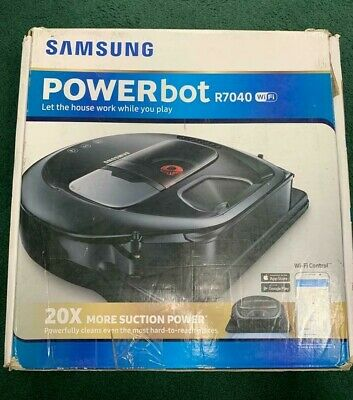 Samsung POWERbot R7040 Robot Vacuum, Wi-Fi Connectivity- 1059