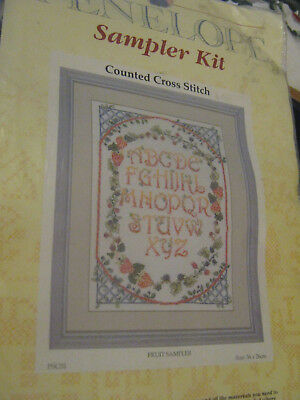 Anchor Counted Cross Stitch Sampler Kit