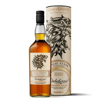 Dalwhinnie Winters Frost Haus Stark Game of Thrones Whisky Schnaps 43% 700 ml