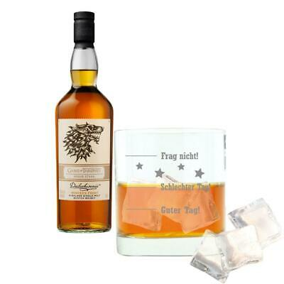 Dalwhinnie Winters Frost Haus Stark Game of Thrones Whisky mit Glas 43% 700ml