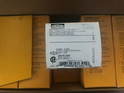 Hubbell Wiring Systems HBL5361 Extra Heavy Duty Standard Box of 10