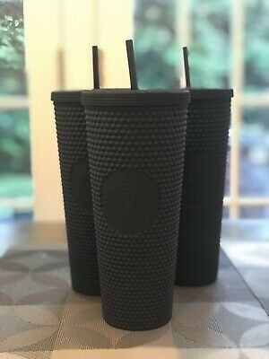 Starbucks Fall 2019 Limited Edition Studded Tumbler Cup - Matte Black