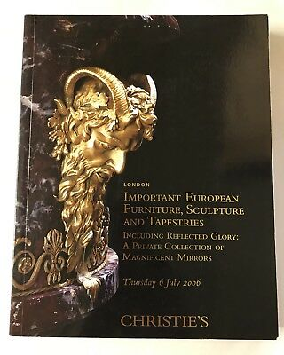 Christie's Important European Furniture, Sculpture and Tapestries July,2006