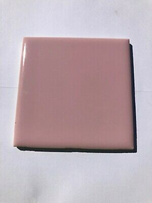 "1 Pc. New Vintage 4 1/4"" X 4 1/4"" Stylon Pink Wall Tile 6 A 60 Made In USA"