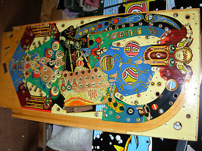 Bally Eight Ball Deluxe Used Playfield