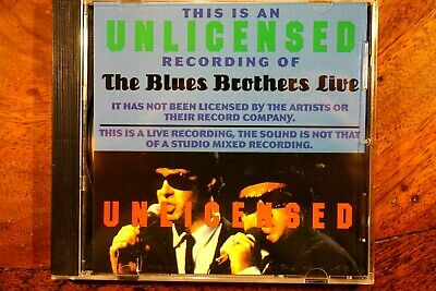 The Blues Brothers Live - Unlicensed  -  CD, VG