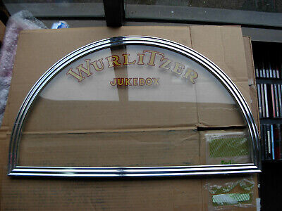 Wurlitzer Jukebox 1050 Front Glass And Frame